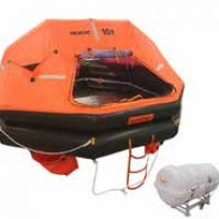 Life Raft w Canister and Cradle